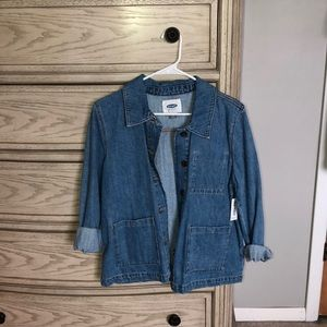 Old navy denim swing jacket